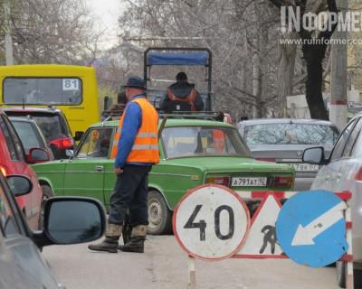 Под личным контролем О.В. Казурина в Севастополе возобновлены дорожные работы (фото)