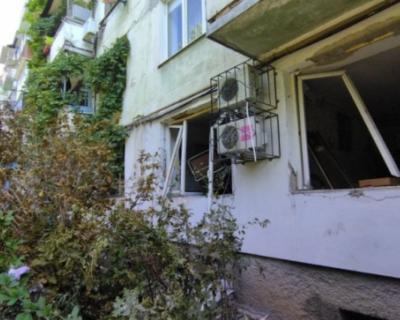 В жилом доме в центре Симферополя произошел взрыв
