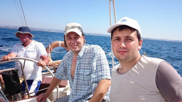 Экспедиция РГО на яхте «Гермес»