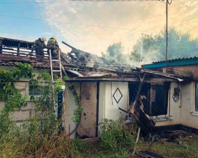 Севастополец самостоятельно выбрался через окно из горящего дома