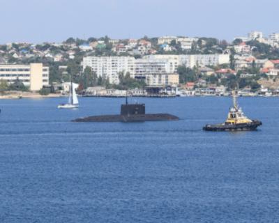 Черноморский флот проводит специальные военные учения