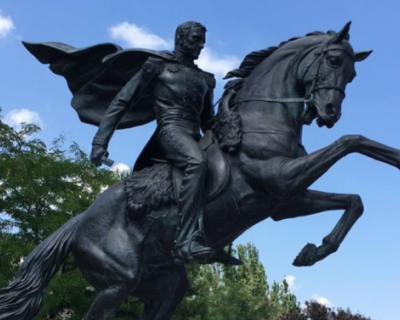В Феодосии повредили памятник генералу Котляревскому