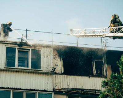 Подробности крупного пожара на Блюхера в Севастополе. Есть погибший