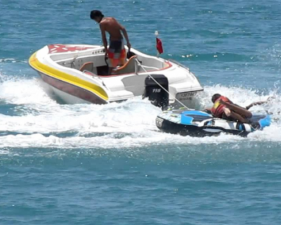 Крымчанин стал жертвой наезда катера