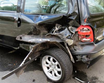 Четыре автомобиля столкнулись на Ялтинской трассе