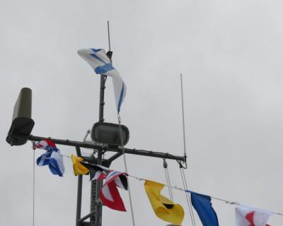 В Севастополе подняты Андреевские флаги на новейших водолазных катерах