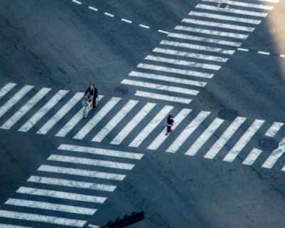 В Феодосии машина сбила девушку на пешеходном переходе