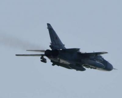 В районе Перми разбился бомбардировщик Су-24