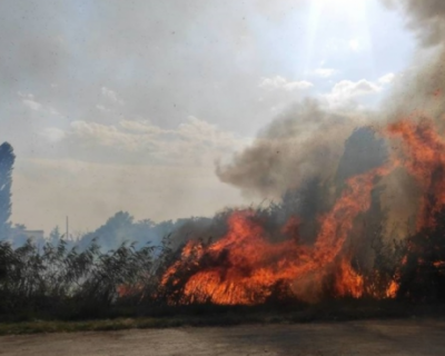 Спасатели Крыма ликвидировали три крупных пожара