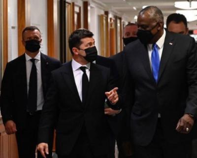 Зеленский пожаловался главе Пентагона