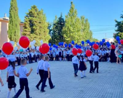 Учебный год в школе №13 посёлка Кача начался по плану