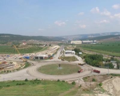 Строители «ВАД» приступили к устройству путепроводов на Ялтинском кольце