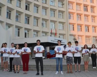 В СевГУ прошел флешмоб по борьбе с терроризмом (ВИДЕО)