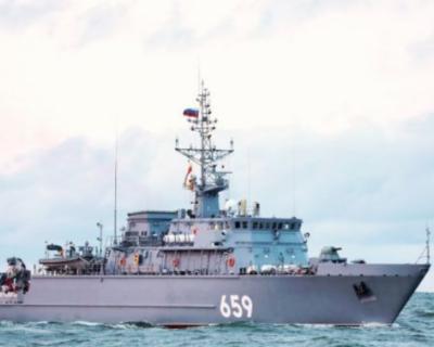 В состав Черноморского флота вошел новейший корабль