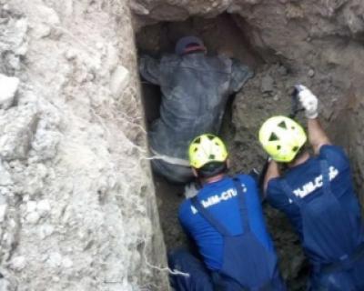 Рабочего завалило грунтом в Крыму