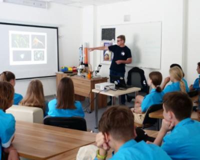 Российские школьники успешно освоили морские науки в «Артеке»