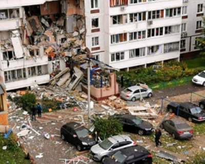 В подмосковном Ногинске произошел взрыв в девятиэтажном доме (ВИДЕО)
