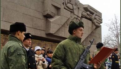 """В Севастополе успешно прошла акция """"Военная служба по контракту в Вооруженных Силах – твой выбор!"""""""