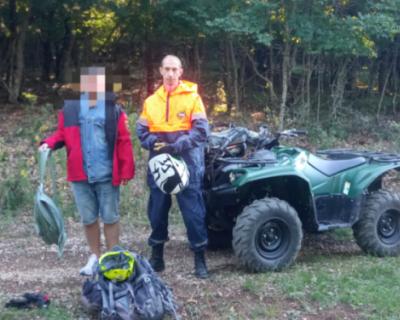 Турист из Смоленска заблудился в Крыму