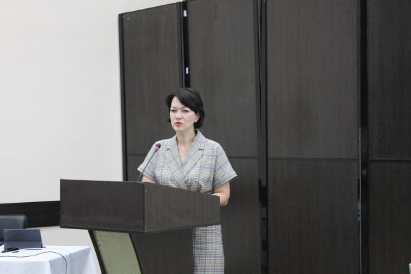 Директор Севприроднадзора Юлия Гаврилова