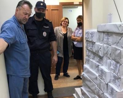 Территориальным комиссиям Севастополя переданы избирательные бюллетени