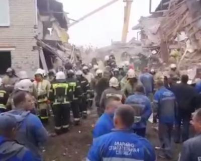 В результате взрыва в жилом доме в Ельце погибли три человека
