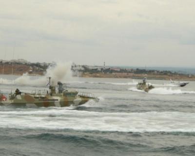 Отряд боевых катеров ЧФ перехватывал вражеские катера в Чёрном море