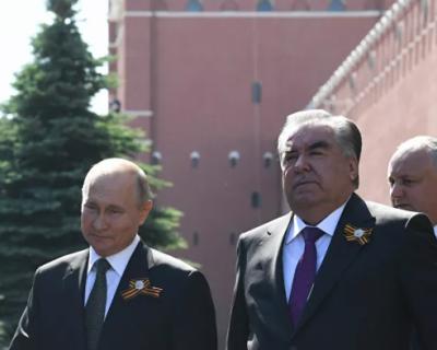 Владимир Путин отправляется с визитом в Таджикистан