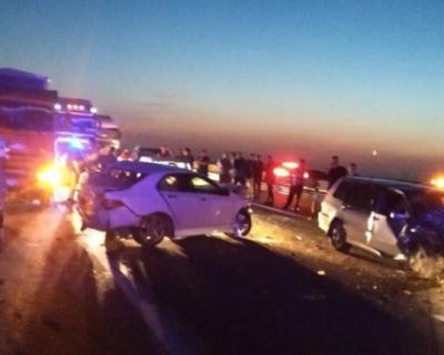Три автомобиля столкнулись на трассе «Таврида»