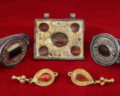Крымские археологи нашли украшения аланской знати