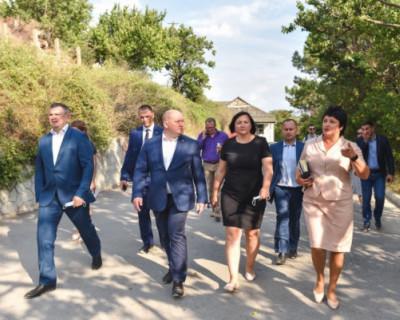 Власти Севастополя побывали в селе