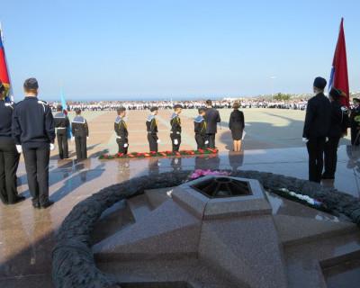 14 октября состоялось посвящение в севастопольцы