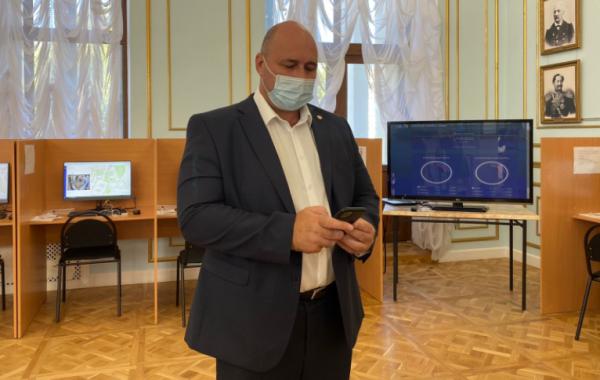 Треть избирателей Севастополя уже проголосовала дистанционно