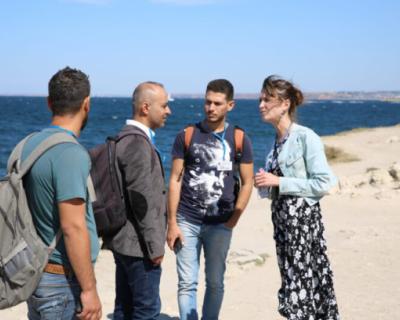 Сирийские археологи встретились с коллегами из СевГУ