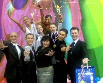 Танцоры Севастополя приняли участие в турнире на Кубок губернатора Брянской области