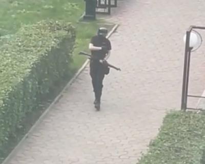 11 человек пострадали при стрельбе в Пермском университете (ВИДЕО)