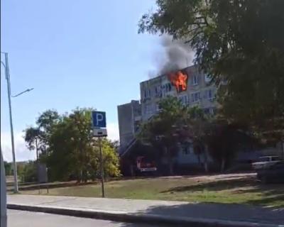 Один человек погиб во время пожара в Евпатории