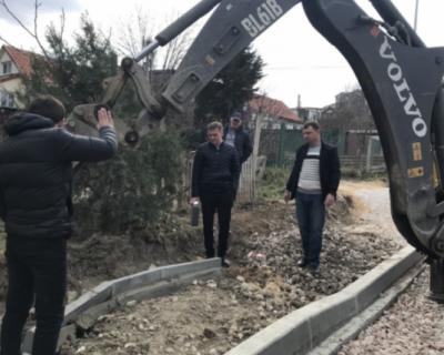 Активисты ОНФ контролируют ход дорожных работ в Севастополе