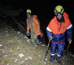 В Крыму специалисты МЧС сняли со скалы мужчину