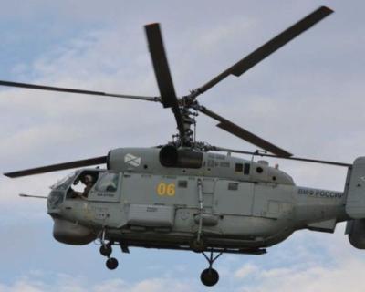 На Камчатке разбился вертолёт Ка-27