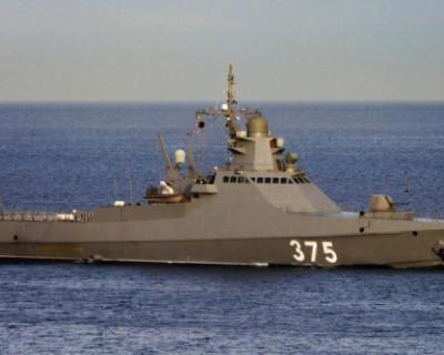 Корабли ЧФ отработали боевые стрельбы во время учений в Черном море
