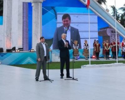 Глава Крыма принял участие в Фестивале культуры и спорта народов Юга России
