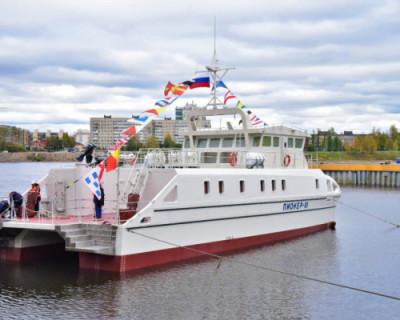Научно-исследовательское судно СевГУ «Пионер-М» спущено на воду