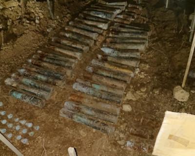 В Севастополе нашли снаряды времен войны