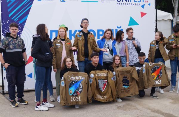 Студенты СевГУ отметили спуск на воду «Пионера-М» ярким праздником 10