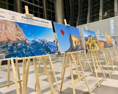 В аэропорту «Симферополь» проходит выставка достопримечательностей Крыма