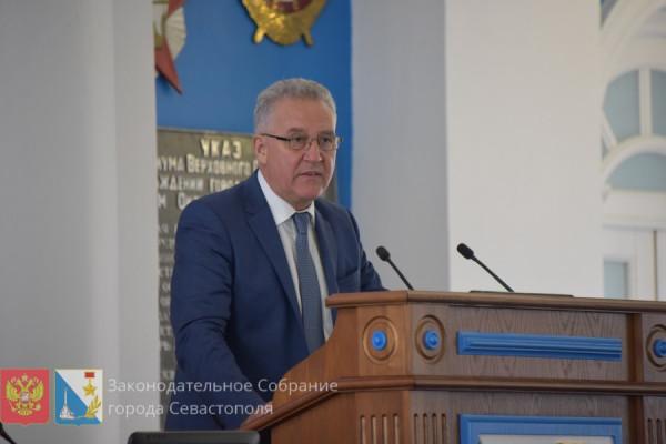 На сентябрьской сессии севастопольского парламента прощались и воссоединялись вновь 3