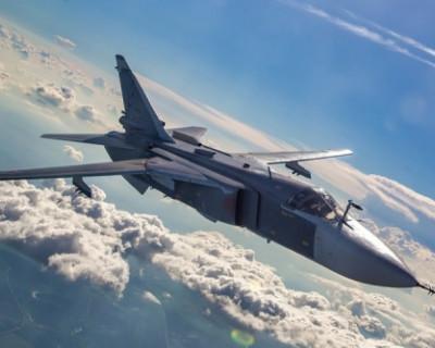Самолеты ЧФ РФ отработали бомбометание на полигоне в Крыму