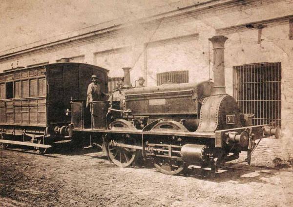 Английская железная дорога в Севастополе 7