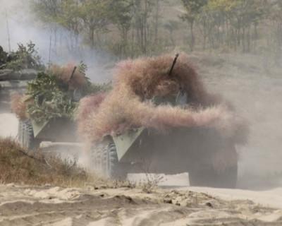 В Крым переброшены мотострелки с Северного Кавказа